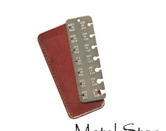 Pocket Metal Wire and Sheet Metal Measuring Gauge Tool