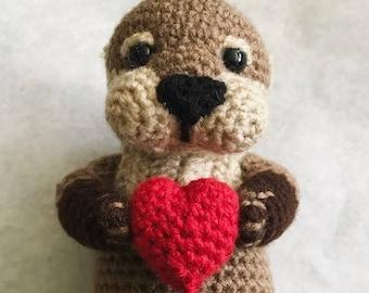 Otter - Amigurumi Crochet Pattern