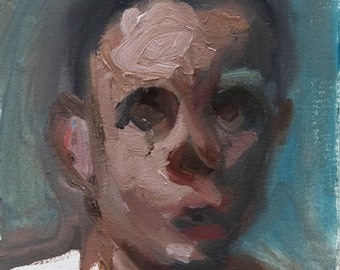 Oil Sketch 6, Small Painting