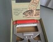 Norlund's Han-D-Gaf, Vintage Gadget, Fishing Gadget Tool, Original Display Box, Fishermen, Sporting Tool, Odd, Unusual Tool