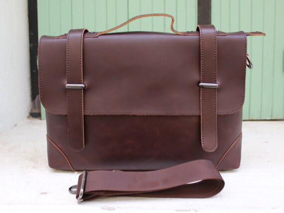 Leather Messenger, messenger bag,  Laptop bag SALE