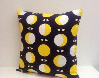 Mystic Eye Sun & Moon witchy magic Pillow / Cushion Cover