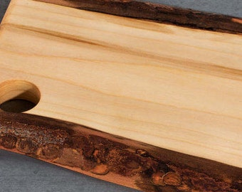 Live Edge Wood Serving Board - Cheese Board