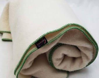Wool Mattress Pad – Naturally Waterproof 100% Wool - Soft, Breathable, Machine Washable – Twin Mattress Pad