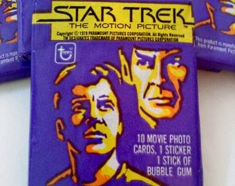 Star Trek The Motion Picture Trading Cards