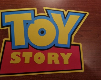 Large Toy Story Die Cut * Party Decor * Scrapbooking * Wall Decor * Logo * Ready To Ship