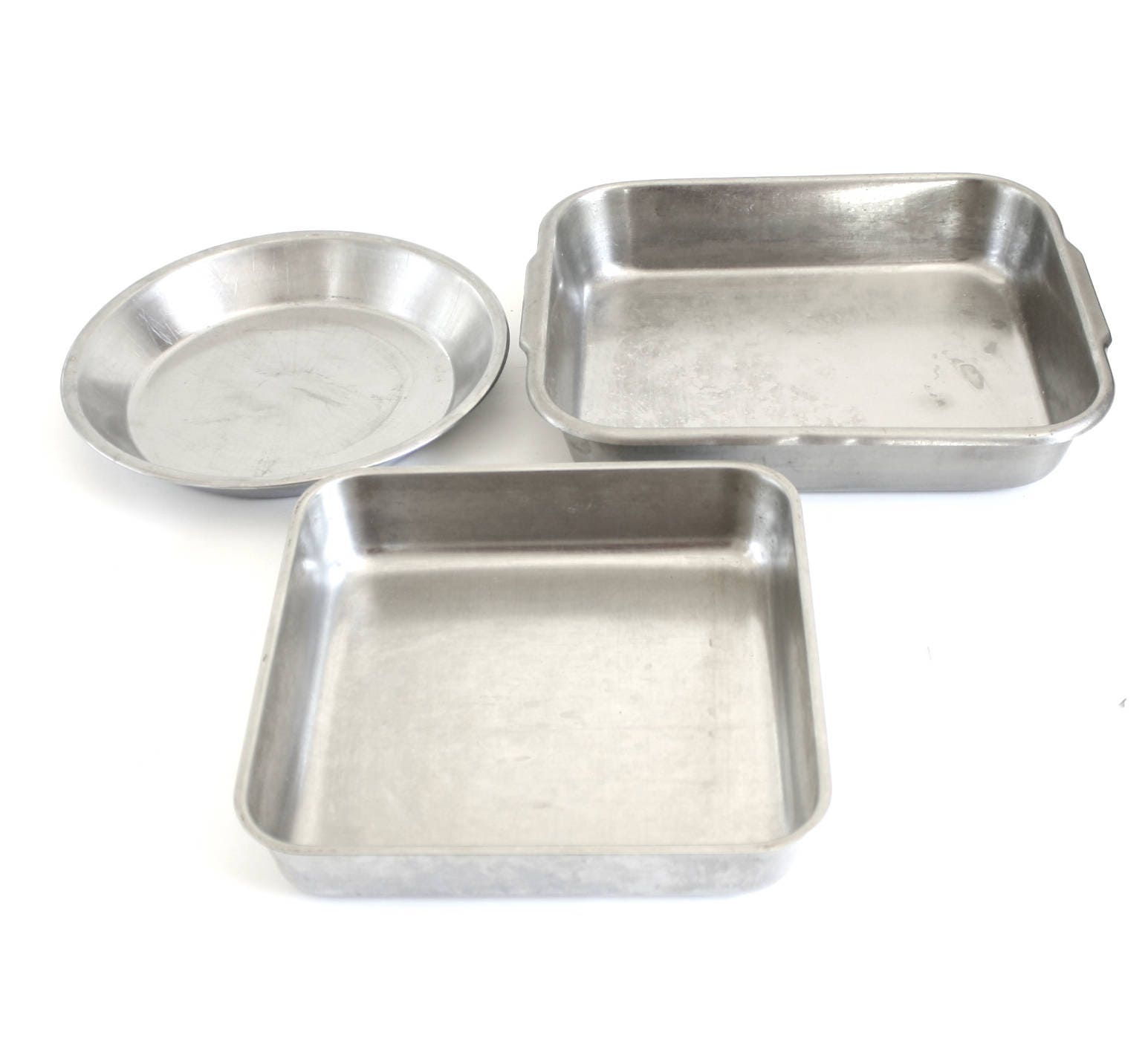 stainless steel bakeware square cake pan polar ware allegheny. Black Bedroom Furniture Sets. Home Design Ideas