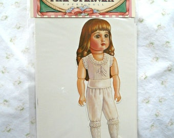 The Steiner Paper Doll / 1880s Reproduction / Peck Gandre / 1990 / 12 Period Outfits / New In Package