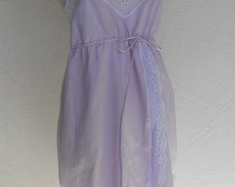 Vintage Chemise Satin Nightgown Givenchy Intimates Medium