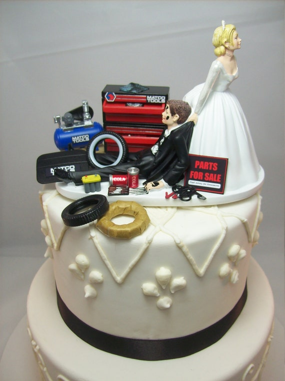 mechanic wedding cake toppers wedding cake topper for mechanics auto mechanic matco 17250