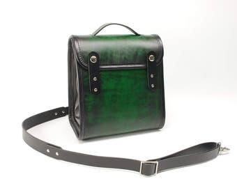 Small Leather Pack Purse