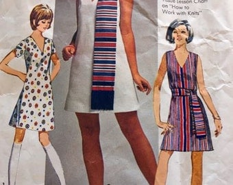 1969 Simplicity Dress pattern