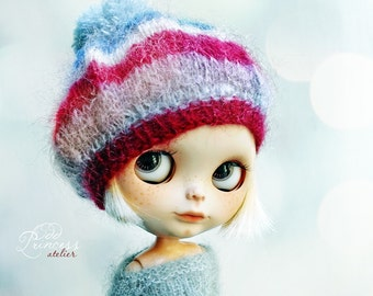 DOWNTOWN KID Blythe Beret By Odd Princess Atelier, Hand Knitted Collection