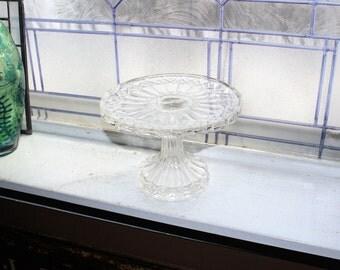 Elegant Glass Cake Stand Vintage Dessert Stand