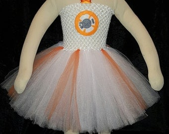 Starwars BB8 tutu dress costume
