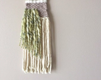 READY TO SHIP Woven wall hanging - wall hanging - woven hanging - wall decor - fiber hanging - fiber art
