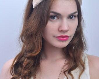 Bridal Blush Pink Feather Headband | Blush Feather Headpiece | Feather Tiara | Blush Wedding | Blush Hair Accessory | Pink Feather Headpiece