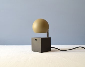 Vintage Michel Lax Lightolier Lytegem Telescoping Desk Lamp