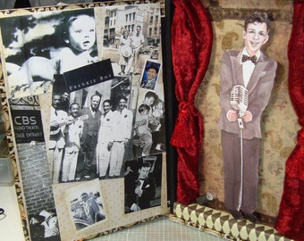SOLD  Frank Sinatra shadow box