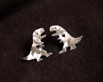 Tyrannosaurus Rex Earrings, T-Rex