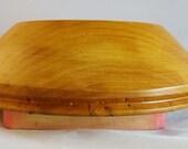 "Millinery wooden hat cloche brim block - 22 1/2"""