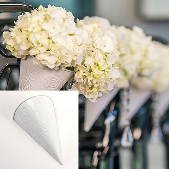 Wedding Pew Decoration Ideas: Wedding Supplies Pew Decorations Flower Cones DIY Decorative