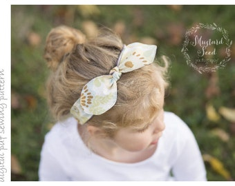 Headband - Sizes 0-3mo to 3+yrs - digital pdf sewing pattern