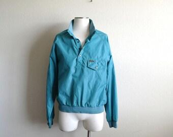 Vintage Eddie Bauer Jacket, Pullover Jacket, Rain Jacket, Mens Jacket, Womens Jacket, Nylon Jacket, Windbreaker, Rain Shell, Lightweight, S