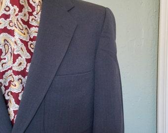 1950s herringbone suit, Hollywood trousers