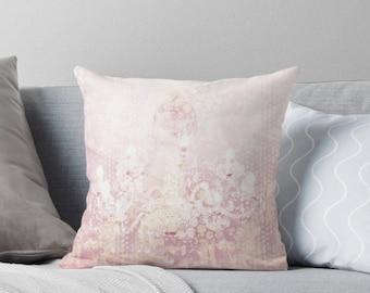 Chandelier Throw Pillow - Paris, Pastel home decor