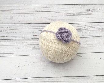 Baby headband   crochet headband   flower headband   baby headwrap   baby photoprop   baby gift   baby shower gift