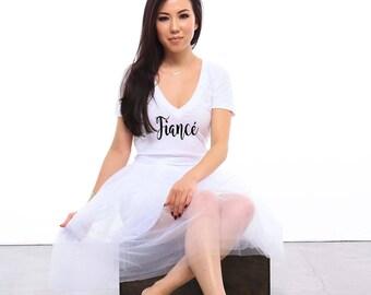 Fiance Shirt / Fiancé / Fiance Gift / Bride Shirt / Engagement Gift / Bride To Be / Bride To Be Gift / Bridal Shower Gift / Bride Gift