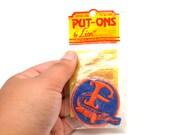 "80s Florida Gators University of Florida Iron-on Sew-on Patch Round 2"""