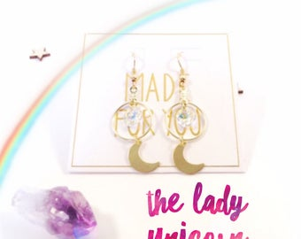 Magical Energy Earrings - The Lady Unicorn