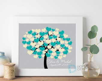 Wedding Tree Guest Book - Wedding Guestbook - Wedding Guest Book Tree - Wedding Guest Book  - Signature Tree - Alternative Wedding Guestbook