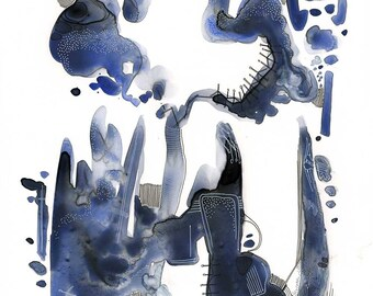 Abstract Watercolour #7 - Original Painting