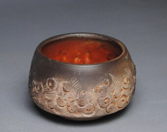 Tea Bowl Wood Fired Chawan  F34