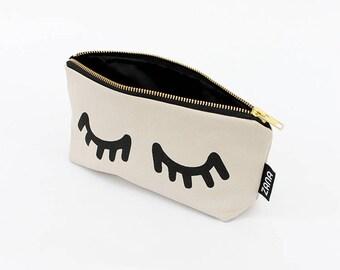 Eyes Makeup Bag - Brush Bag - Travel Cosmetics Case