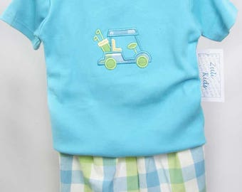 Kids Golf - Baby Boy Clothes - Baby Boy Golf - Baby Boy Golf Outfit - Personalized Golf Tee - Golf Clothing - Golf Apparel - Toddler 291780