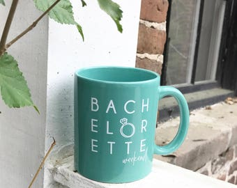 Bachelorette Weekend Coffee Mug; Charleston Bachelorette Party Coffee Mug