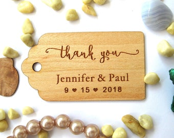 Favor tags, Favour Tags Wedding, Thank you tags, Wedding Favors, Wedding favour tags , Gift tag personalized, Rustic Tags,  Rustic Decor