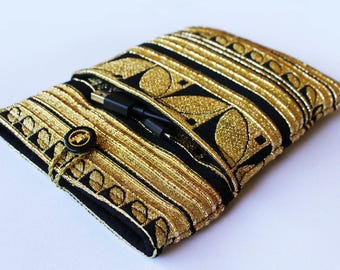 Gypsy Gold E-reader cover, Kindle Paperwhite cover, kindle paperwhite case, Kobo glo case, Nook cover, kindle cover kindle sleeve, voyage