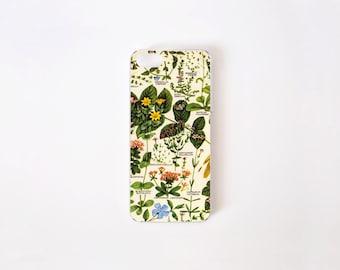 Floral iPhone SE Case - Botanical iPhone 5 Case - iPhone 5/5s Case - iPhone 4/4s Case - Vintage Botanical Print iPhone Case