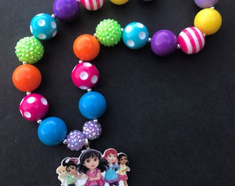Dora and Friends Chunky Necklace