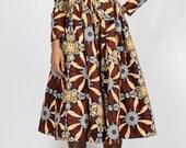 NEW Gugu Midi Dress