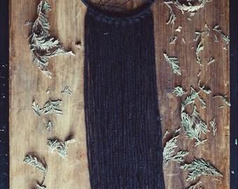 Black Dream Catcher - Gypsy Decor - Witch DreamCatcher - Wall Decor