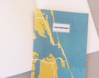 Outer Banks Map Notebook