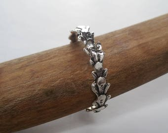 Twig Ring Size 15, Large Men's Wedding Band, Sterling Silver Twig Jewelry, Woodland Wedding Ring, Nature Inspired Man's Branch Ring