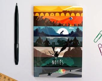 Harry Potter Movie A6 Notebook, Movie Stationary, Pocket Notebook, Stationary