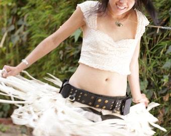 Rubber Hyperion Utility Belt, Festival Belt, Belt Bag, Hip Pouch